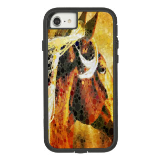 Abstract equestrian western country horse Case-Mate tough extreme iPhone 7 case
