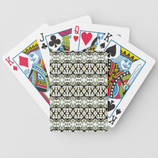 Abstract Ethnic Camouflage Bicycle Playing Cards