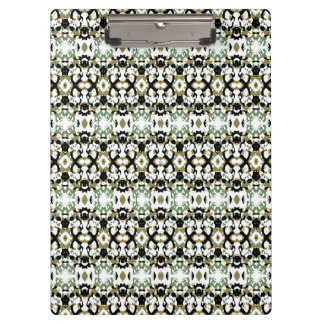 Abstract Ethnic Camouflage Clipboard