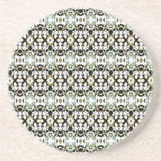 Abstract Ethnic Camouflage Coaster