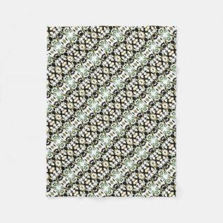 Abstract Ethnic Camouflage Fleece Blanket