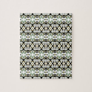 Abstract Ethnic Camouflage Jigsaw Puzzle