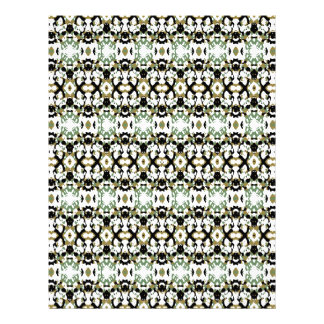 Abstract Ethnic Camouflage Letterhead