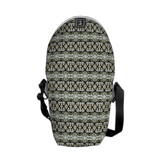 Abstract Ethnic Camouflage Messenger Bags