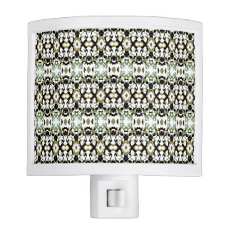 Abstract Ethnic Camouflage Night Lights