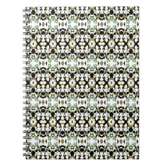 Abstract Ethnic Camouflage Notebook