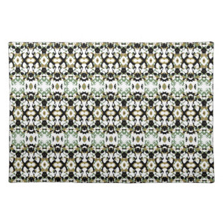 Abstract Ethnic Camouflage Placemat