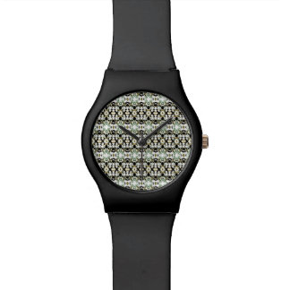 Abstract Ethnic Camouflage Watch