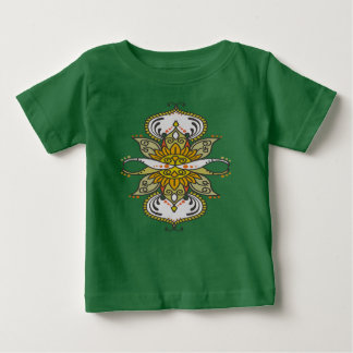 abstract ethnic flower baby T-Shirt