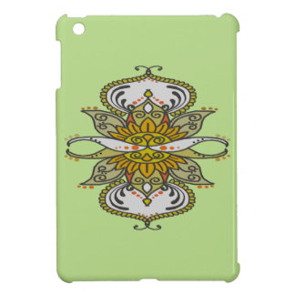 abstract ethnic flower iPad mini cover