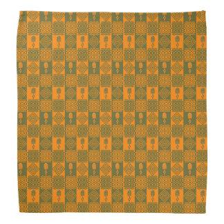 abstract ethnic   geometric pattern. do-rag