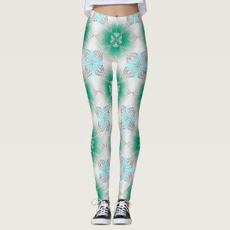 abstract ethnic   geometric pattern. leggings