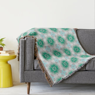 abstract ethnic pattern throw blanket
