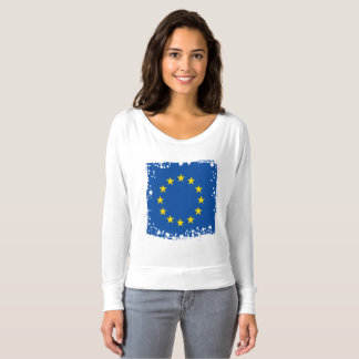 Abstract European Flag, Europe Colors T-shirt