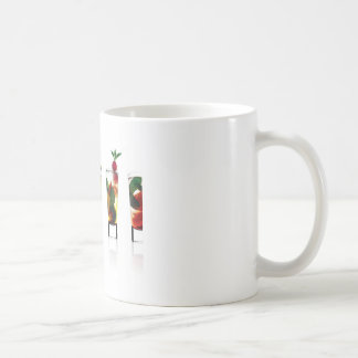 Abstract Everyday All For Fun Coffee Mugs