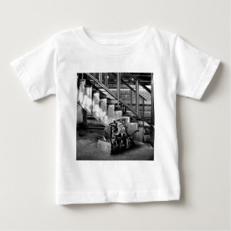 Abstract Everyday Car Engine Baby T-Shirt