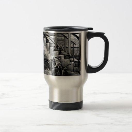 Abstract Everyday Car Engine Coffee Mug