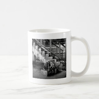 Abstract Everyday Car Engine Mugs