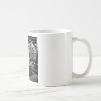 Abstract Everyday Car Engine Coffee Mugs