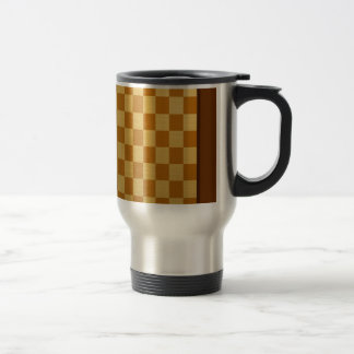 Abstract Everyday Chess Board Mugs