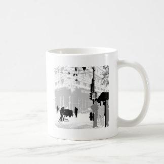 Abstract Everyday City Life Mug