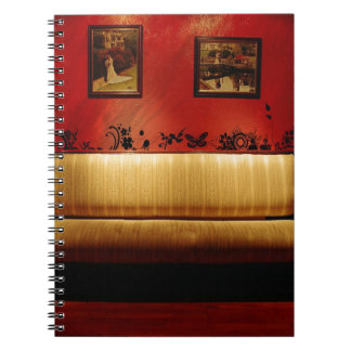 Abstract Everyday Fine Artistic Sofa Spiral Note Books