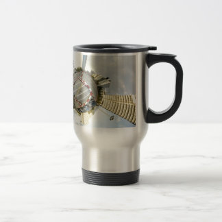 Abstract Everyday Global Dimention Coffee Mugs