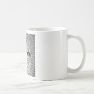 Abstract Everyday Nothing Mugs