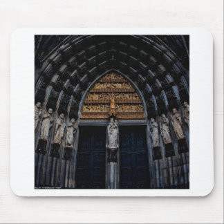 Abstract Everyday Plenty Of Statue Mousepads