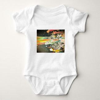 abstract everyday splash paint baby bodysuit