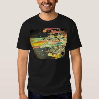 abstract everyday splash paint tshirt