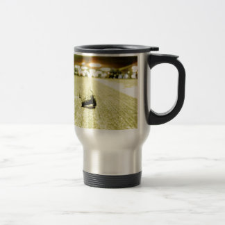 Abstract Everyday Steel Bolt Coffee Mugs