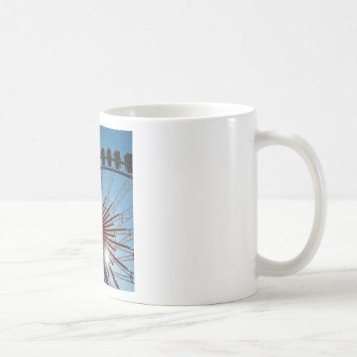 Abstract Everyday Wheel Of Fortune Coffee Mug