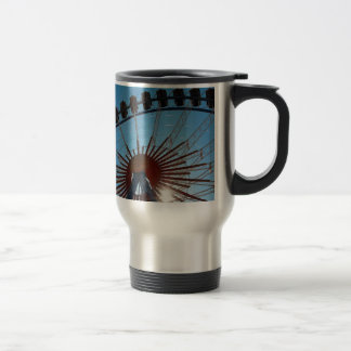 Abstract Everyday Wheel Of Fortune Mugs