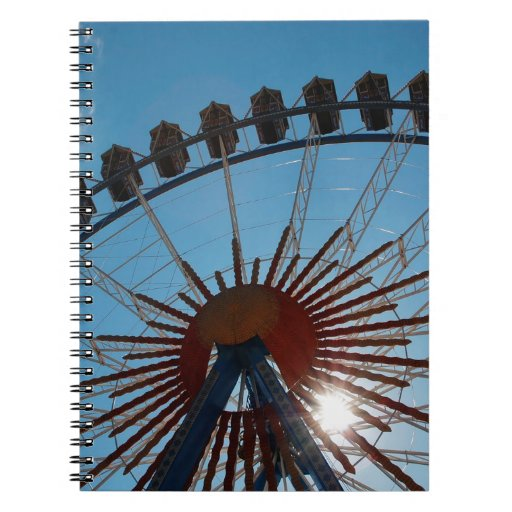 Abstract Everyday Wheel Of Fortune Notebooks