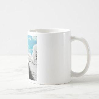 Abstract Everyday Winter Roads Coffee Mug