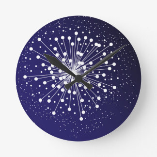 Abstract Explosion Clock