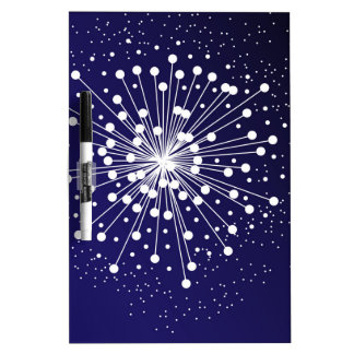 Abstract Explosion Dry-Erase Board