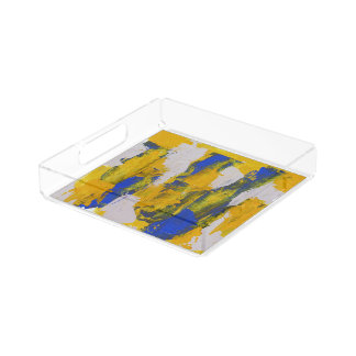 Abstract Expression #10 by Michael Moffa Perfume Tray