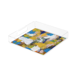 Abstract Expression #11 by Michael Moffa Perfume Tray
