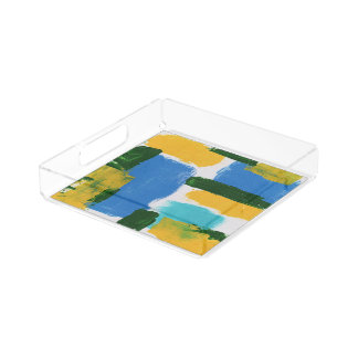 Abstract Expression #3 by Michael Moffa Perfume Tray