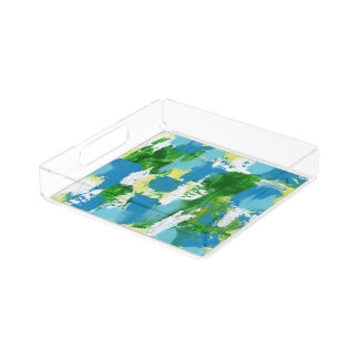 Abstract Expression #5 by Michael Moffa Perfume Tray