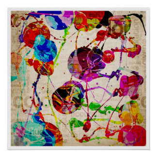 Abstract Expressionism 2 Poster