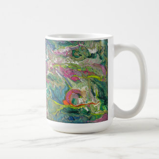 Abstract Expressionism Artsy Classic Large Mug