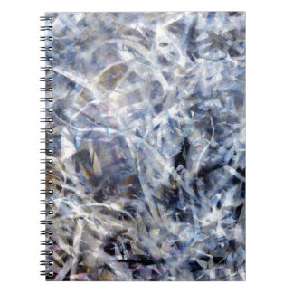 Abstract Expressionist Dance 3 Square Notebook