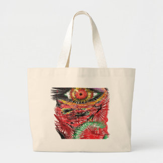Abstract Eye Tote Bags