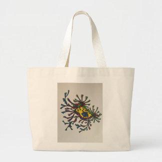 Abstract eye tote bag