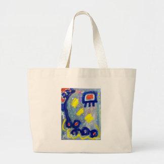 Abstract F13 Jumbo Tote Bag