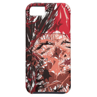 Abstract Face iPhone 5/5S Cases
