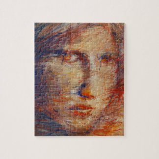 Abstract Face Jigsaw Puzzle